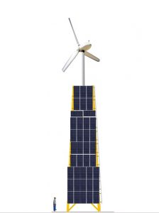 Kleinkrftwerk zur autarken Energieverorgung